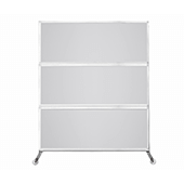 Medi-Wall Portable Divider - Choose Your Size - Frosted