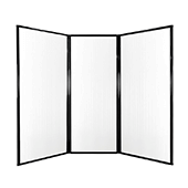 Medi-Wall Privacy Screen - Choose Your Size - Clear
