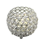 DecoStar™ Crystal Candle Globe / Sphere - Medium - 5""