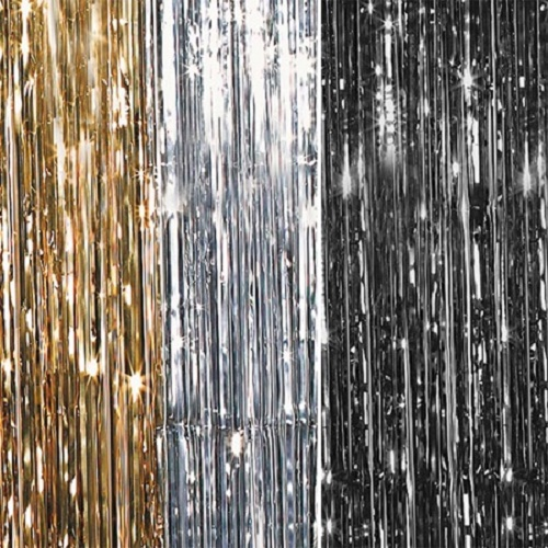 Metallic Shimmer Curtains 12ft