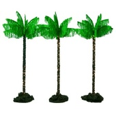 Desert Palm Trees Kit (set of 3)