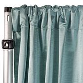 Royal Slub Drape Panel - 100% Polyester - Newport