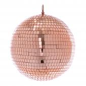 "Mirror Disco Balls 9¾"" - Rose Gold"