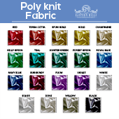 Poly Knit Fabric by the Yard