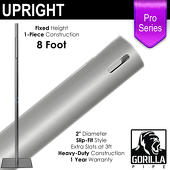 "Pro Series - 8ft Fixed 2"" Upright"