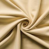 *IFR* Poly Stretch Cloth Drape Panel w/ Sewn Rod Pocket (IFR) - Champagne