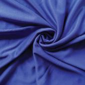 *IFR* Poly Stretch / Scuba Cloth Drape Panel w/ Sewn Rod Pocket (IFR) - Expo Blue