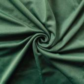 *IFR* Poly Stretch Cloth Drape Panel w/ Sewn Rod Pocket (IFR) - Hunter Green