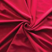 *IFR* Poly Stretch Cloth Drape Panel w/ Sewn Rod Pocket (IFR) - Red