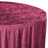Premade Velvet Tablecloth - 120