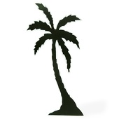Premiere Palm Trees Cut Out Silhouette