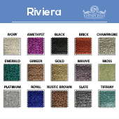 "Riviera- 100% Polyester - By The Yard - 115"" Width"
