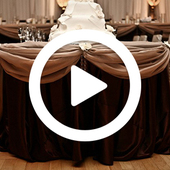 Round Table Draping w/ Satin Valance - Instructional Video