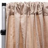 Royal Slub Drape Panel - 100% Polyester - Rain