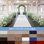Royal Event Carpet - Choose your Size & Color!