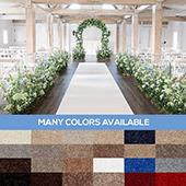 Royal Event Carpet - Choose your Size & Color!