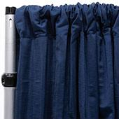 Royal Slub Drape Panel - 100% Polyester - Royal