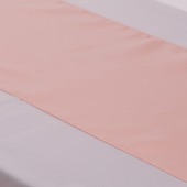 Blush Deco Satin Table Runner - 12