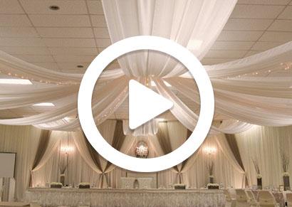Starburst Ceiling Draping Instructional Video