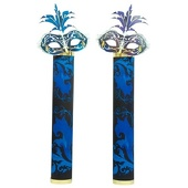 Masquerade Mask Columns Kit - set of 2
