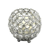 DecoStar™ Crystal Candle Globe / Sphere - Small - 4