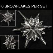 DecoStar™ 4 Inch Acrylic Snowflake Style #4