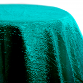 Emerald - Crushed Tergalet Tablecloth by Eastern Mills - Many Size Options