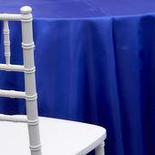 ROYAL BLUE - *FR* Taffeta Tablecloth by Eastern Mills - Many Size Options