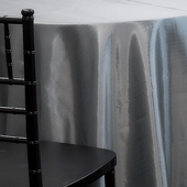 LIGHT SILVER - *FR* Taffeta Tablecloth by Eastern Mills - Many Size Options
