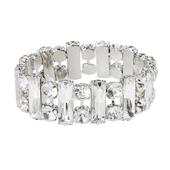 OASIS Atlantic Brand Vintage Floral Wristlets - Bar Crystal - 1/Pack