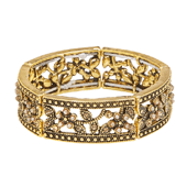 OASIS Atlantic Brand Vintage Floral Wristlets - Rosabella Gold - 1/Pack