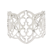 OASIS Atlantic Filigree Cuff Wristlets - SILVER - 1/Pack