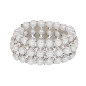 OASIS Atlantic Opera Bracelets - White - 1/Pack
