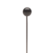 OASIS Atlantic® Round Head Boutonniere Pins - Matte Black - 250/Pack