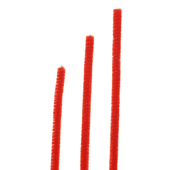 OASIS Chenille Stem - Red - 100/Pack