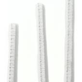 OASIS Chenille Stem - White - 100/Pack