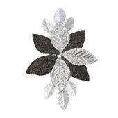 OASIS Corsage Back - Glitter Black & Silver - 3/Pack