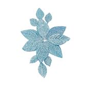 OASIS Corsage Back - Glitter Blue - 3/Pack
