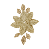 OASIS Corsage Back - Glitter Gold - 3/Pack