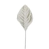 "OASIS Corsage Leaf - 2 1/4"" - Eggshell"