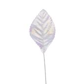 "OASIS Corsage Leaf - 2 1/4"" - Foil Iridescent"