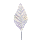 "OASIS Corsage Leaf - 3"" - Foil Iridescent"