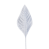 "OASIS Corsage Leaf - 3"" - White"