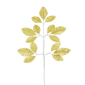 OASIS Corsage Leaf Spray - Foil Gold - 6/Pack
