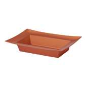 OASIS ESSENTIALS™ Rectangle Bowl - Copper - 12/Pack