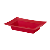 OASIS ESSENTIALS™ Rectangle Bowl - Red - 12/Pack
