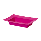 OASIS ESSENTIALS™ Rectangle Bowl - Strong Pink - 12/Pack