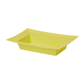 OASIS ESSENTIALS™ Rectangle Bowl - Yellow - 12/Pack