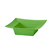 OASIS ESSENTIALS™ Square Bowl - Apple Green - 12/Pack