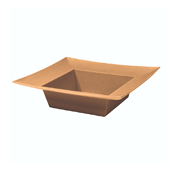 OASIS ESSENTIALS™ Square Bowl - Copper - 12/Pack